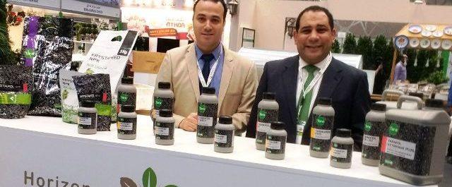 Mostrador productos Taratech en Agriteq cabecera