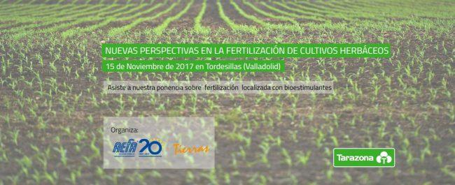 Tarazona patrocina la jornada de perspectivas sobre fertilización de cultivos herbaceos 1 2